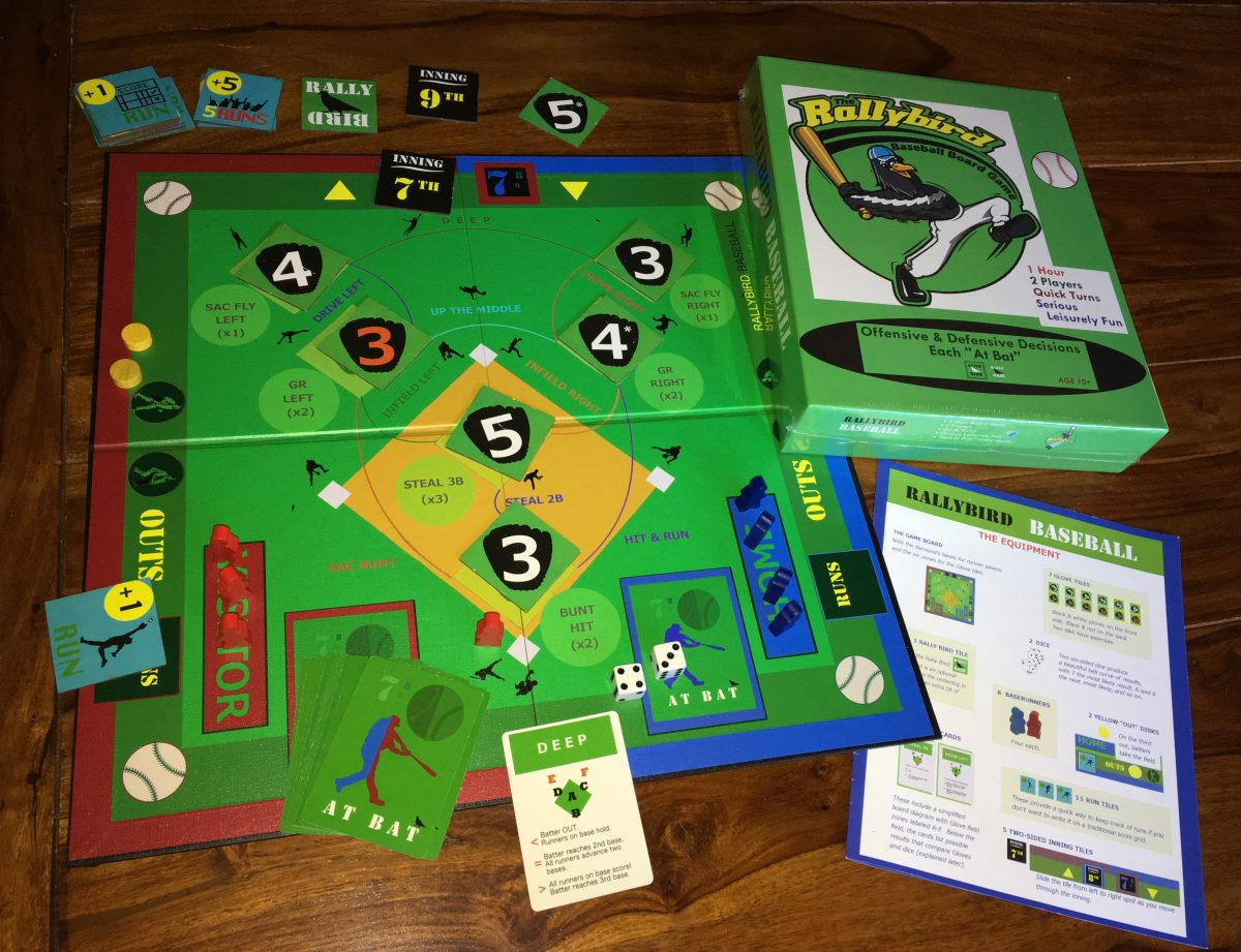 The RallyBird Baseball Board Game
