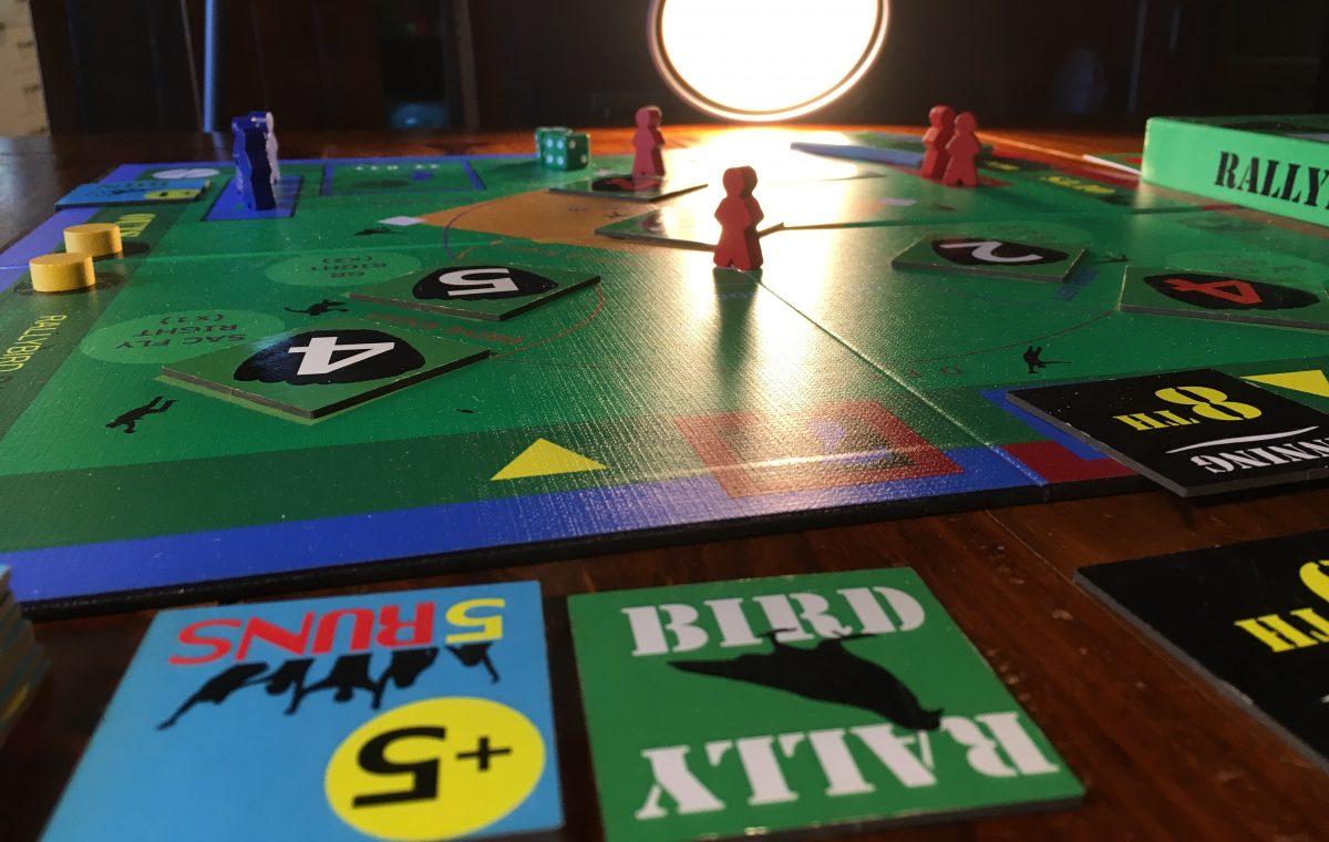The RallyBird Baseball Board Game