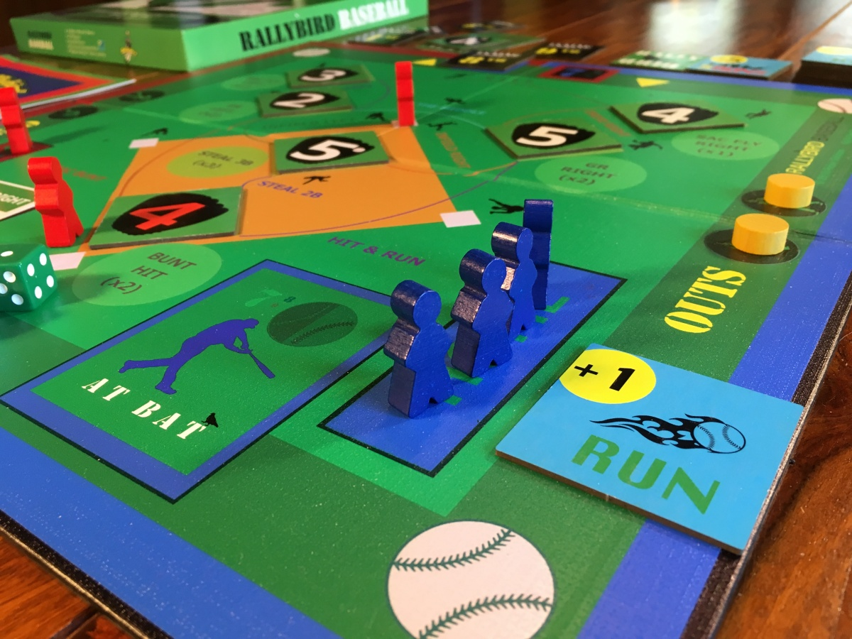 Unofficial #Solitaire #Rules for the #RallyBird #BaseBall #BoardGame