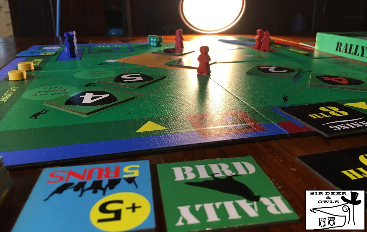 The RallyByrd Baseball Board Game